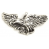 Pendant Eagle Wings Spread Antique Silver